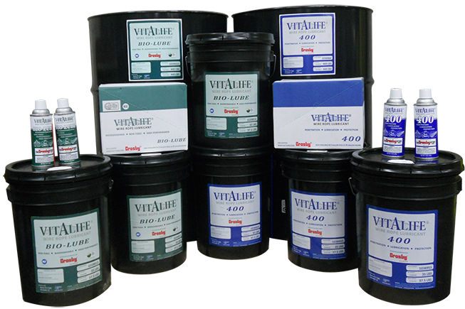 The Industry Leader in Wire Rope Lubrication Since 1895 - VitaLife ...